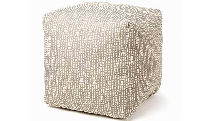 Home Decor Fabric Pouf