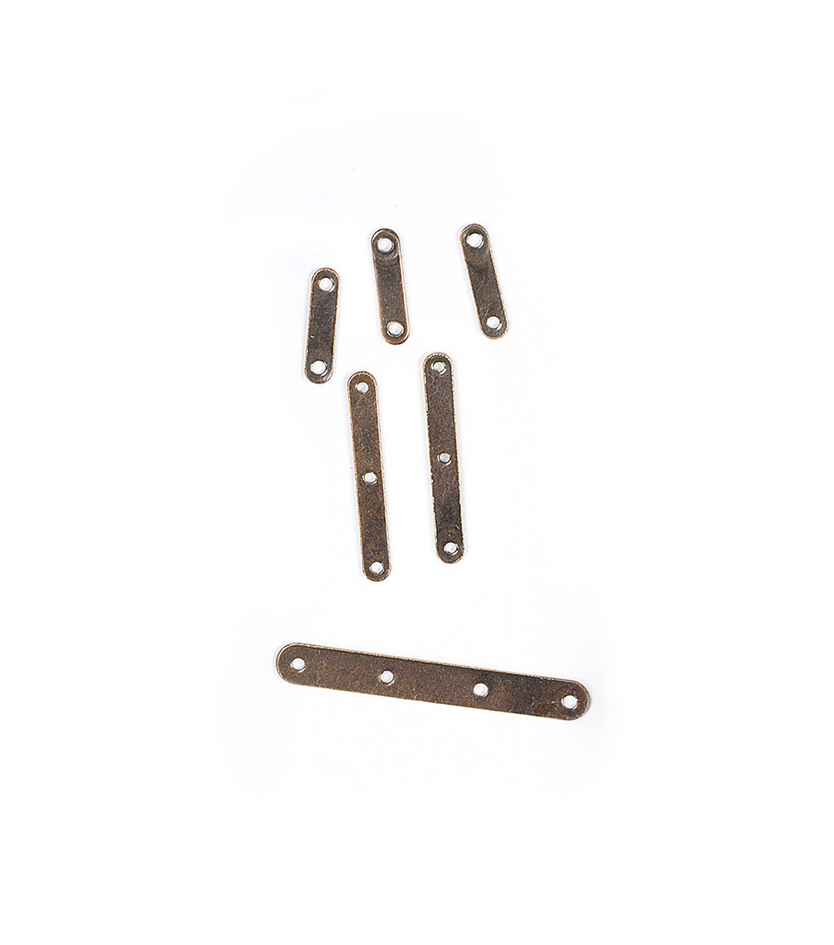 Blue Moon Findings Spacer Bar Metal Multi Pack Plain Oxidized Copper