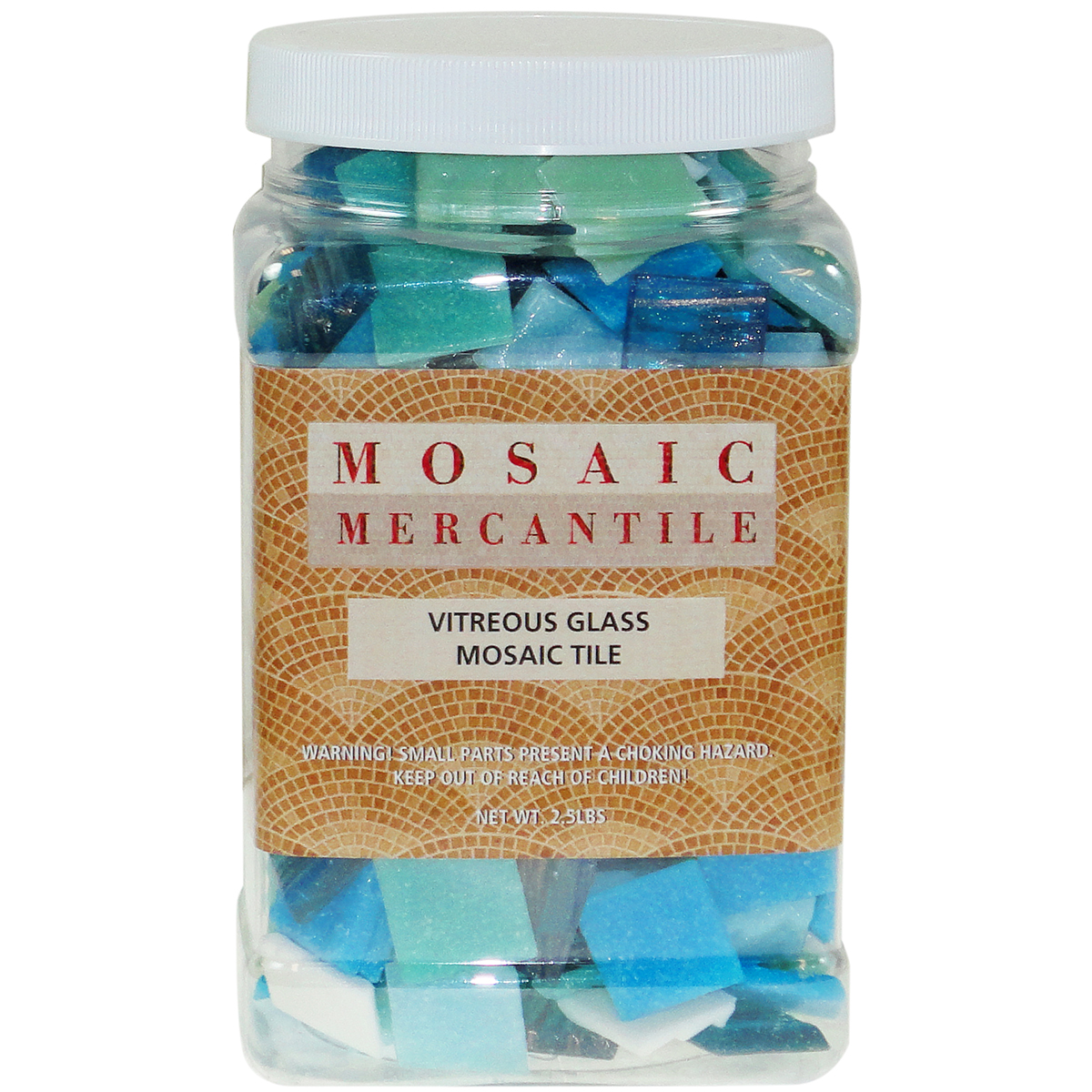 Mosaic Mercantile Vitreous Glass Mosaic Tile Horizon Mix
