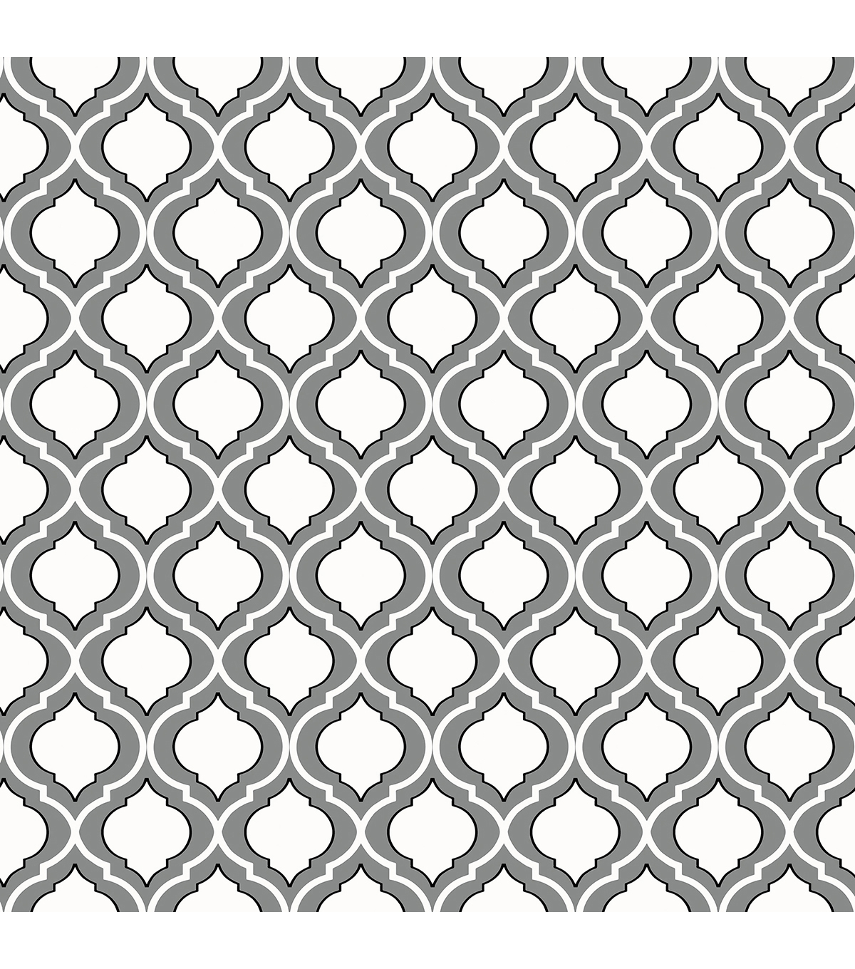 WallPops® NuWallpaper™ Quatrefoil Peel and Stick Wallpaper