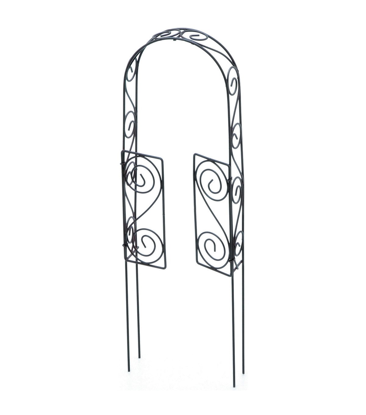 Timeless Miniatures-Wire Rustic Arch Door W/Pick