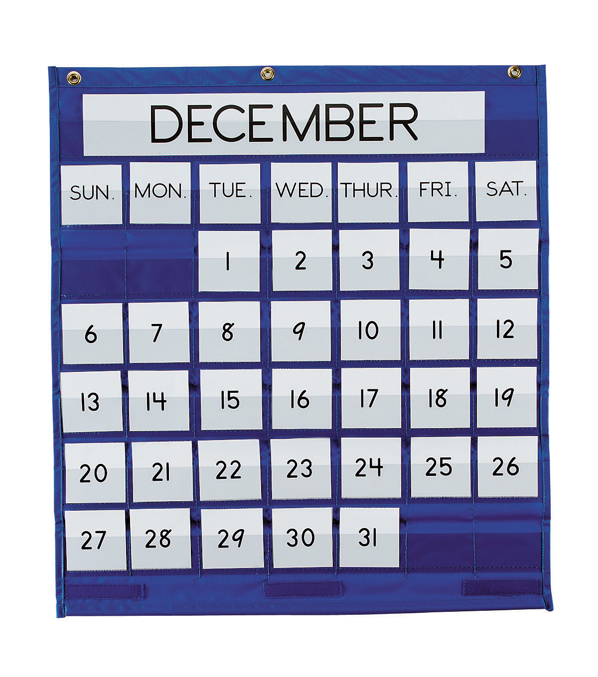 Busy Kids Learning Pacon Monthly Calendar Pocket Chart