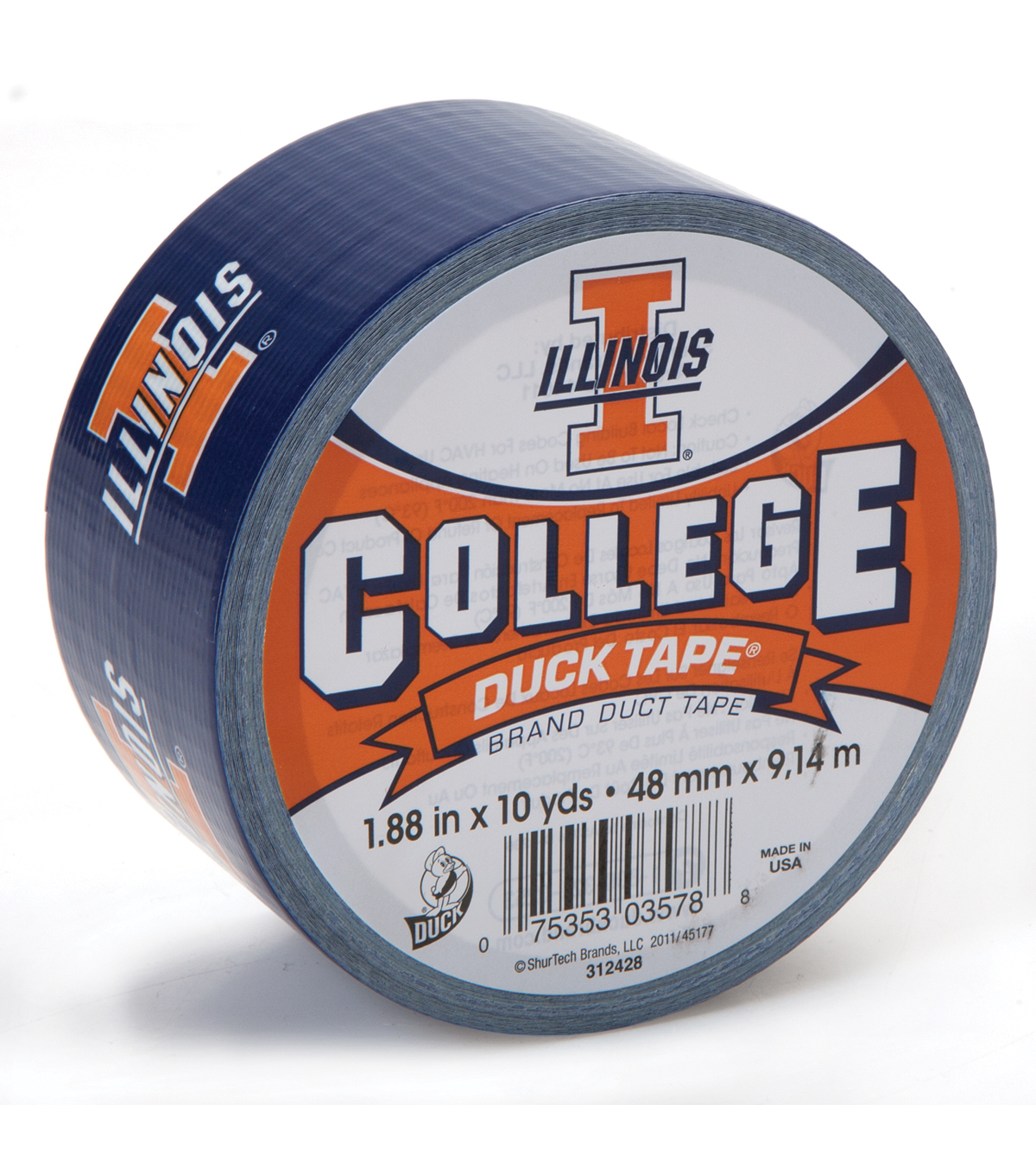 Duck Tape College Logo Illinois