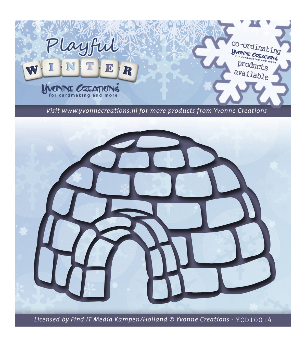 Yvonne Creations Playful Winter Die-Igloo
