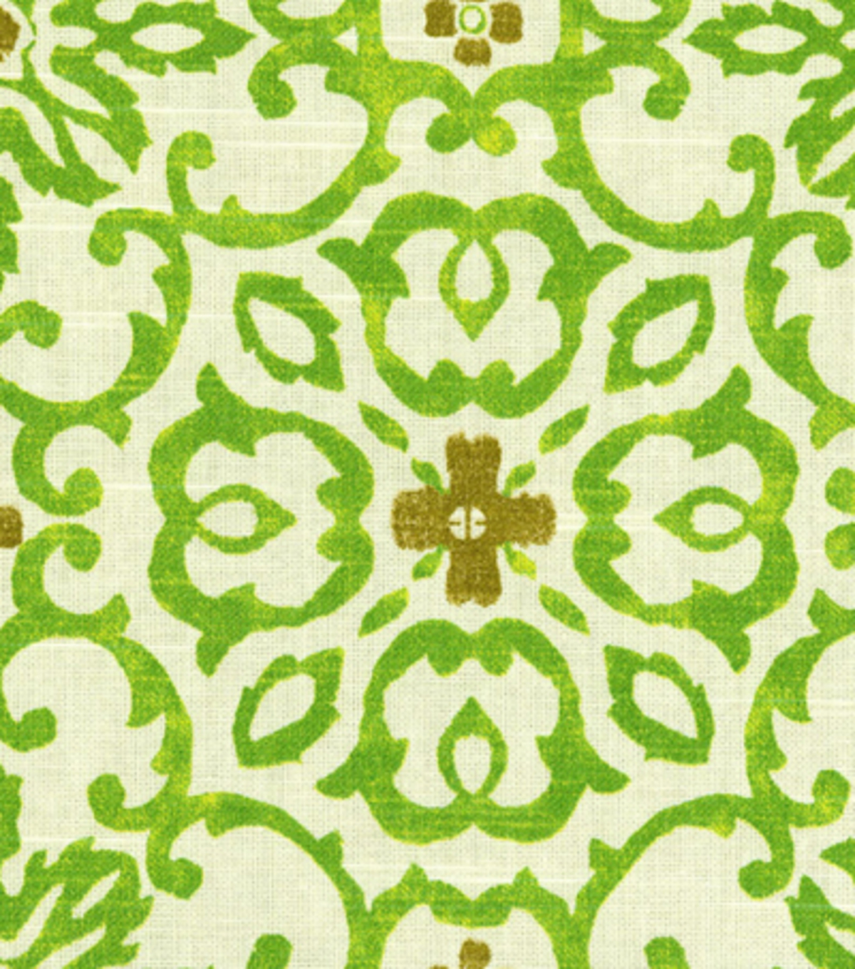 Home Decor 8\u0022x8\u0022 Fabric Swatch-HGTV HOME Souvenir Scroll Granny Smith