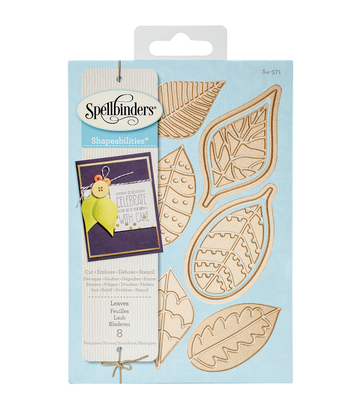 Spellbinders® Shapeabilities Dies-Leaves
