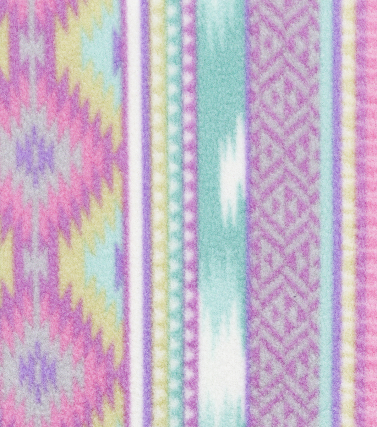 Anti-Pill Fleece Fabric 59\u0022-Lavender Aztec