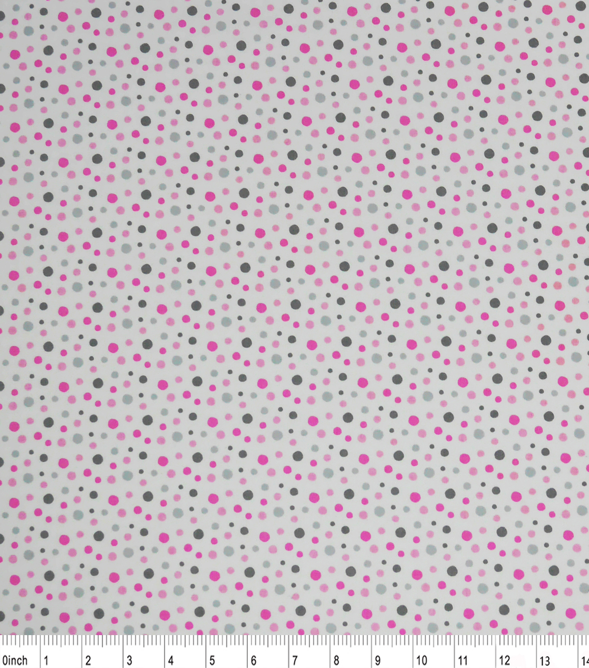 Nursery Cotton Fabric-Madison Multi Dots