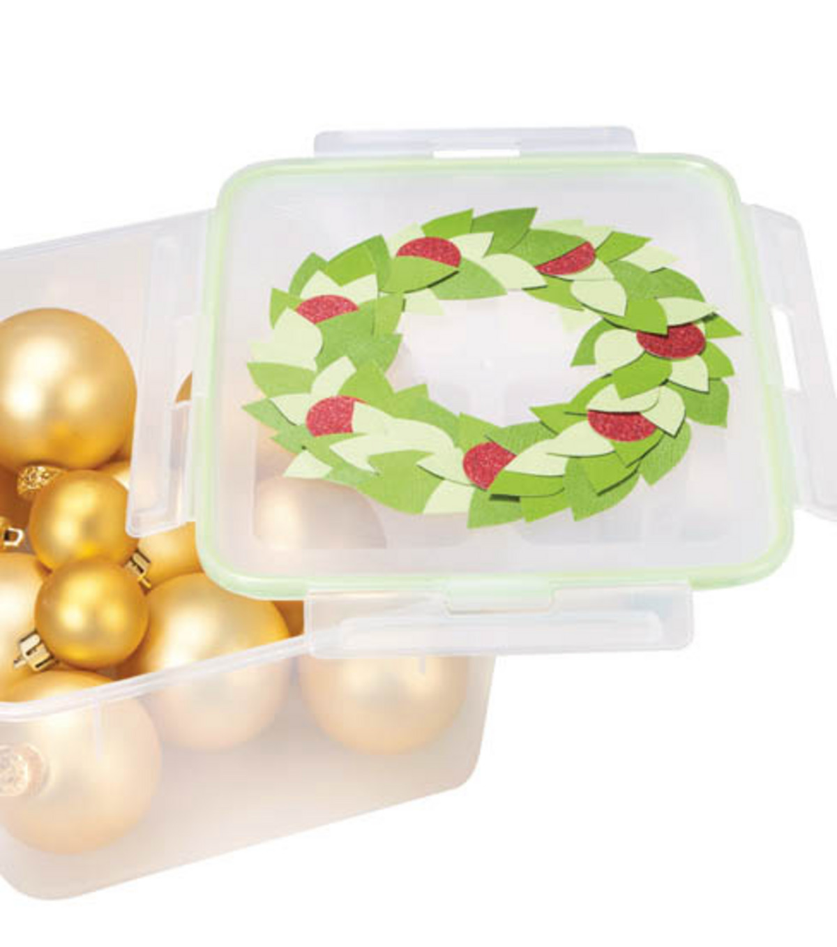 Festive Pot Luck Food Storage Containers