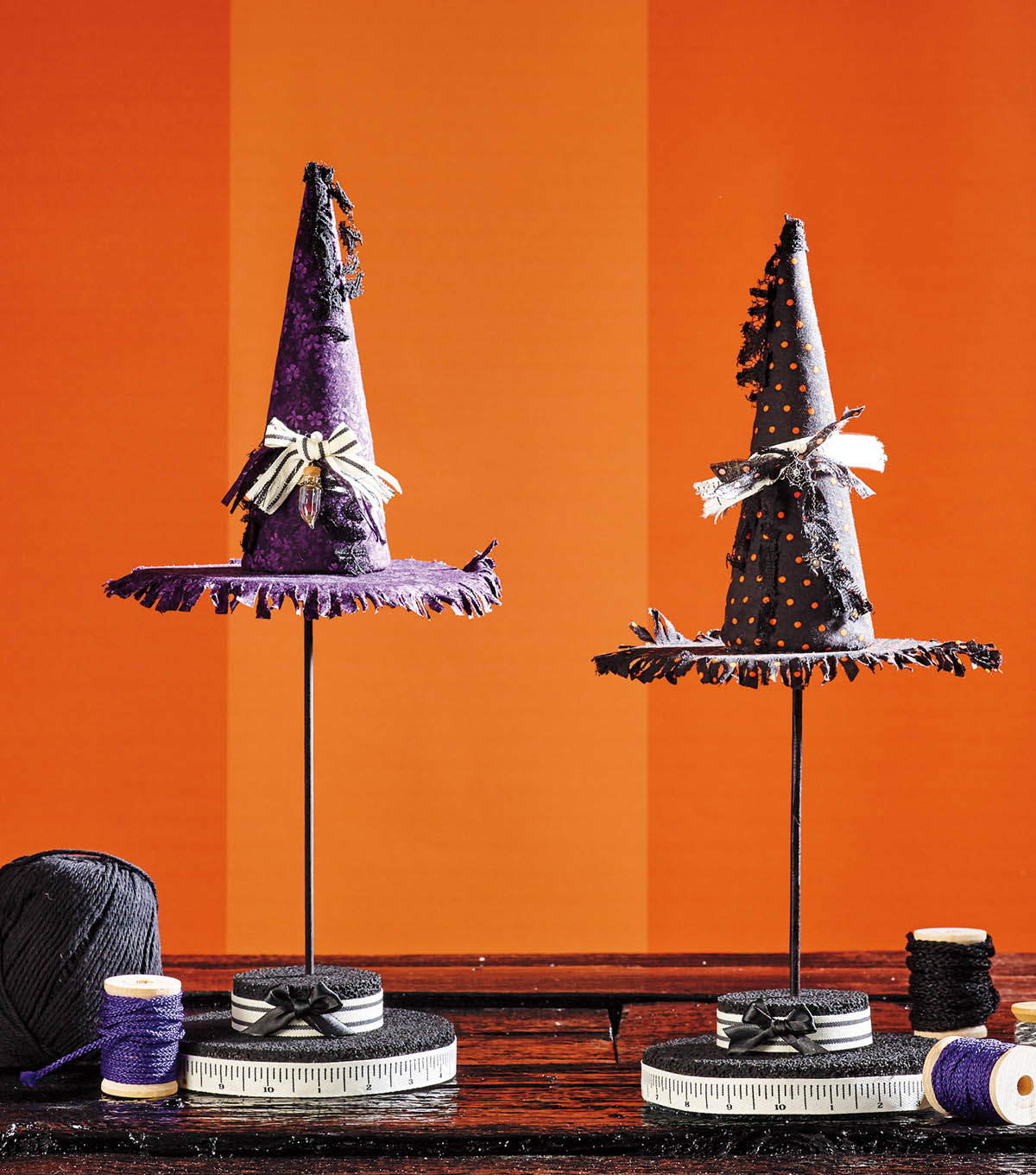 How To Make Witch Hat Topiaries