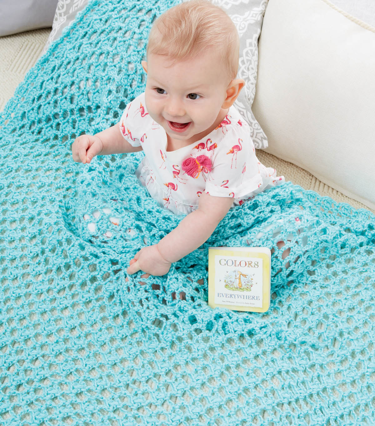 Little Lacy Blanket