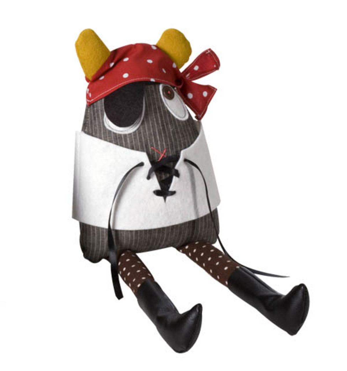 Pirate Costume for Monster Doll