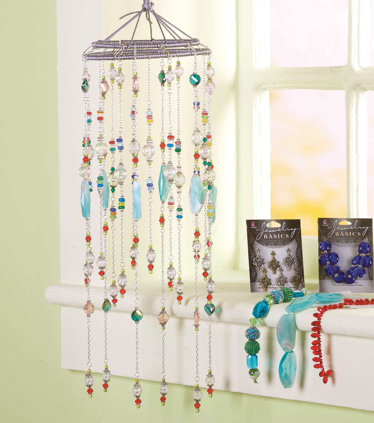 Beaded Chain Windchime
