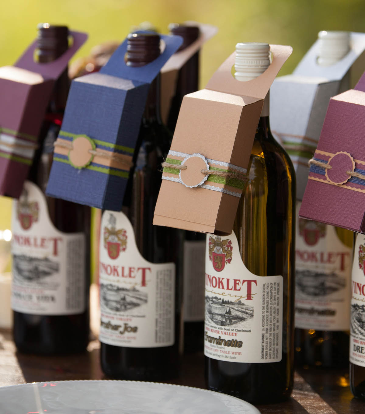 Wine Bottle Chocolate Boxes