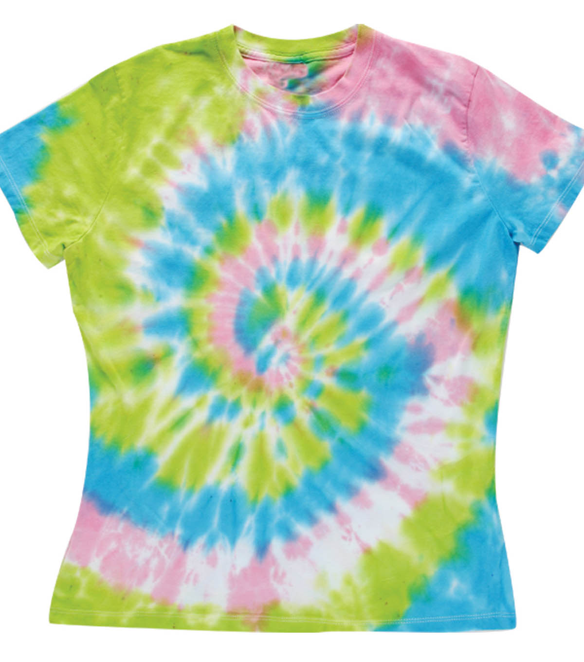 Bright Spiral Technique T-Shirt