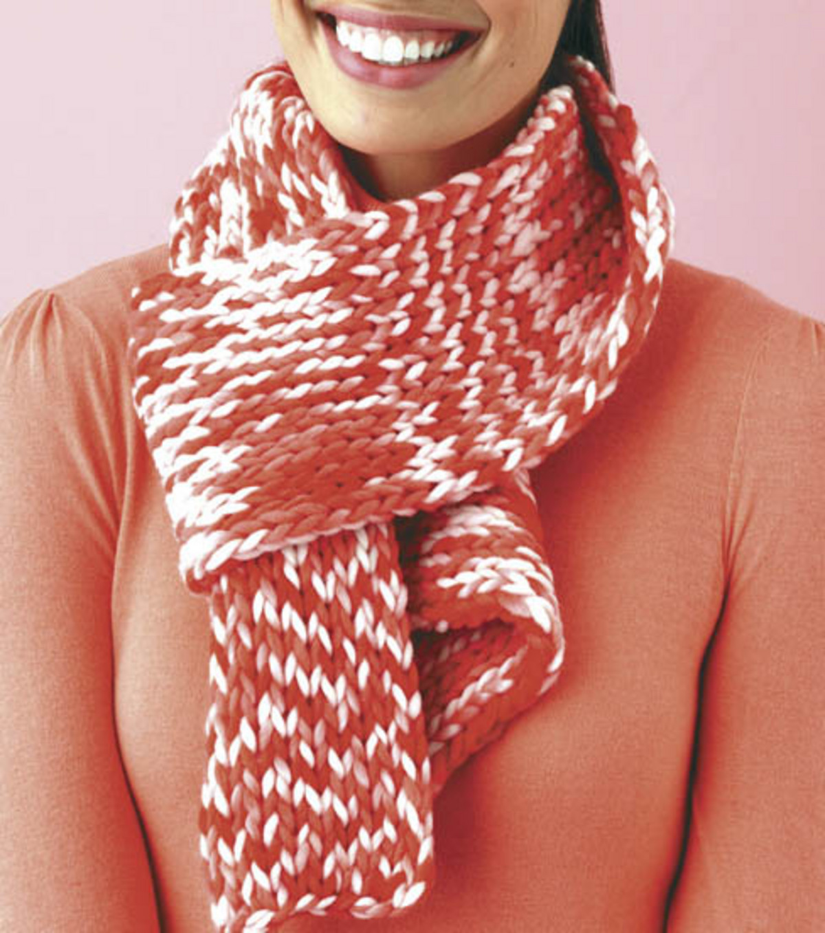 Loom Double-knit Scarf