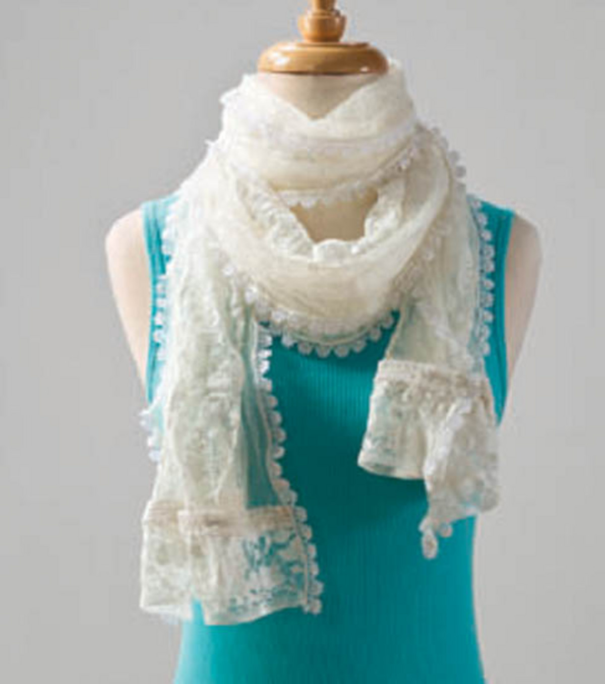 Lace & Tulle Scarf