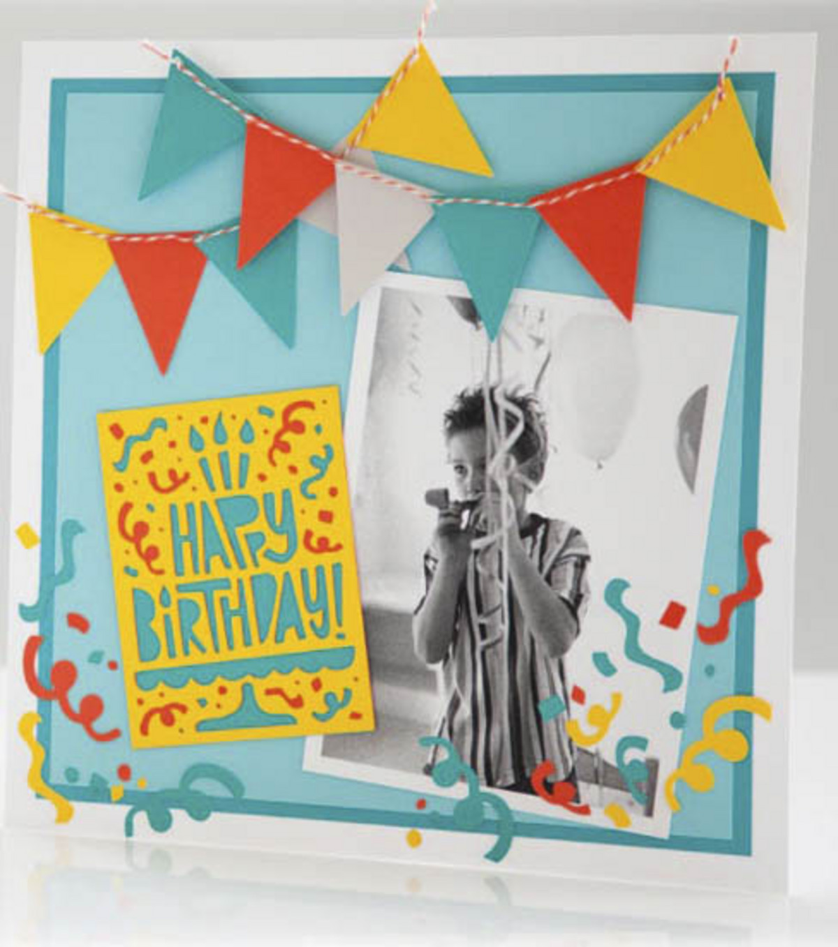 Cricut Mini - Celebrate Happy Birthday Layout