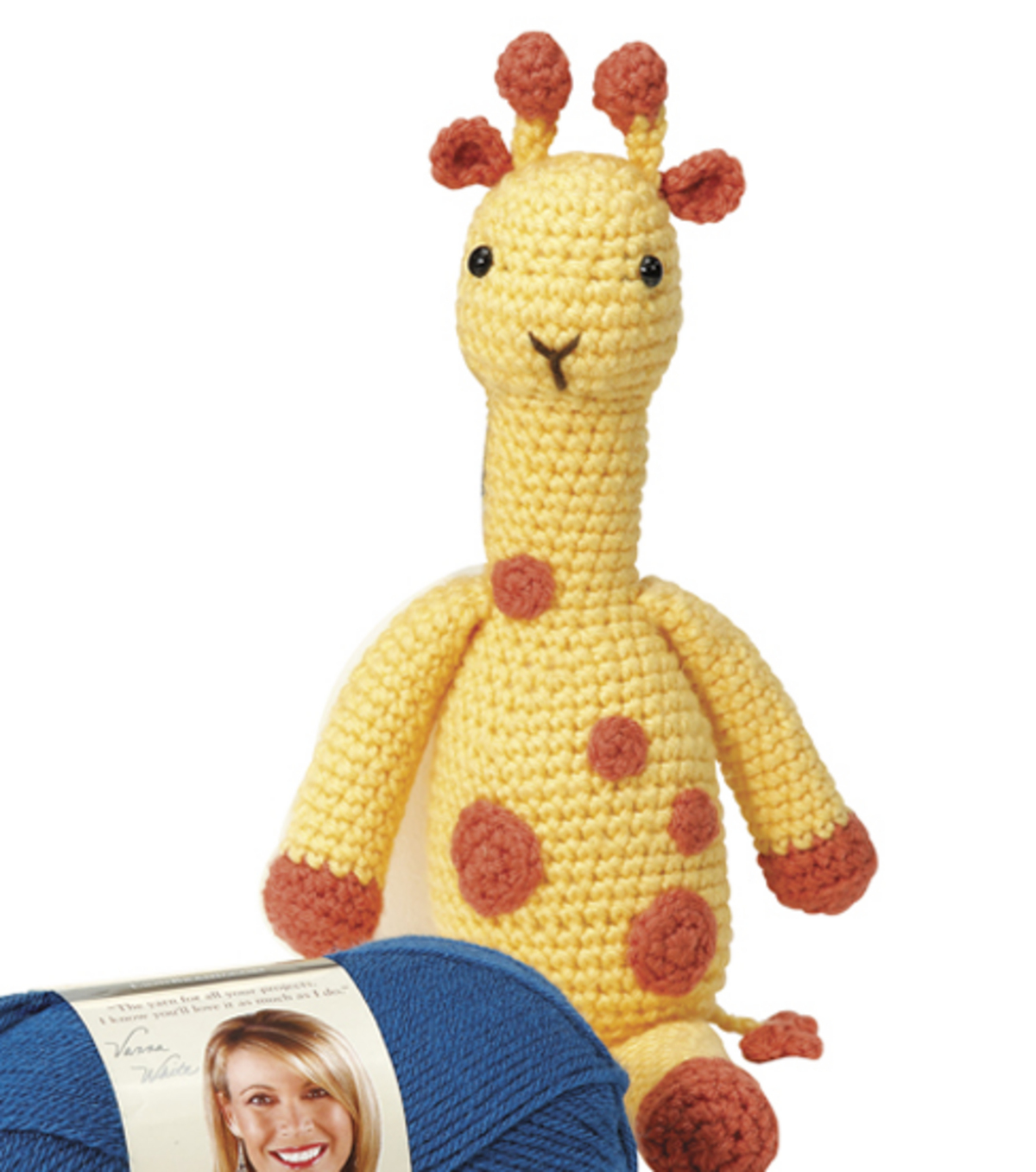 Amigurumi Georgia The Giraffe