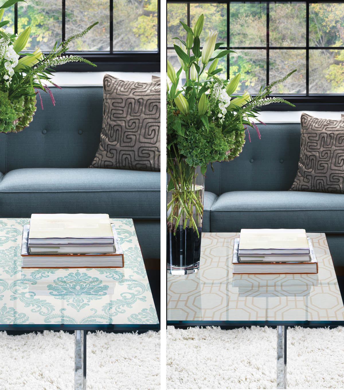 Wallpaper Coffee Table