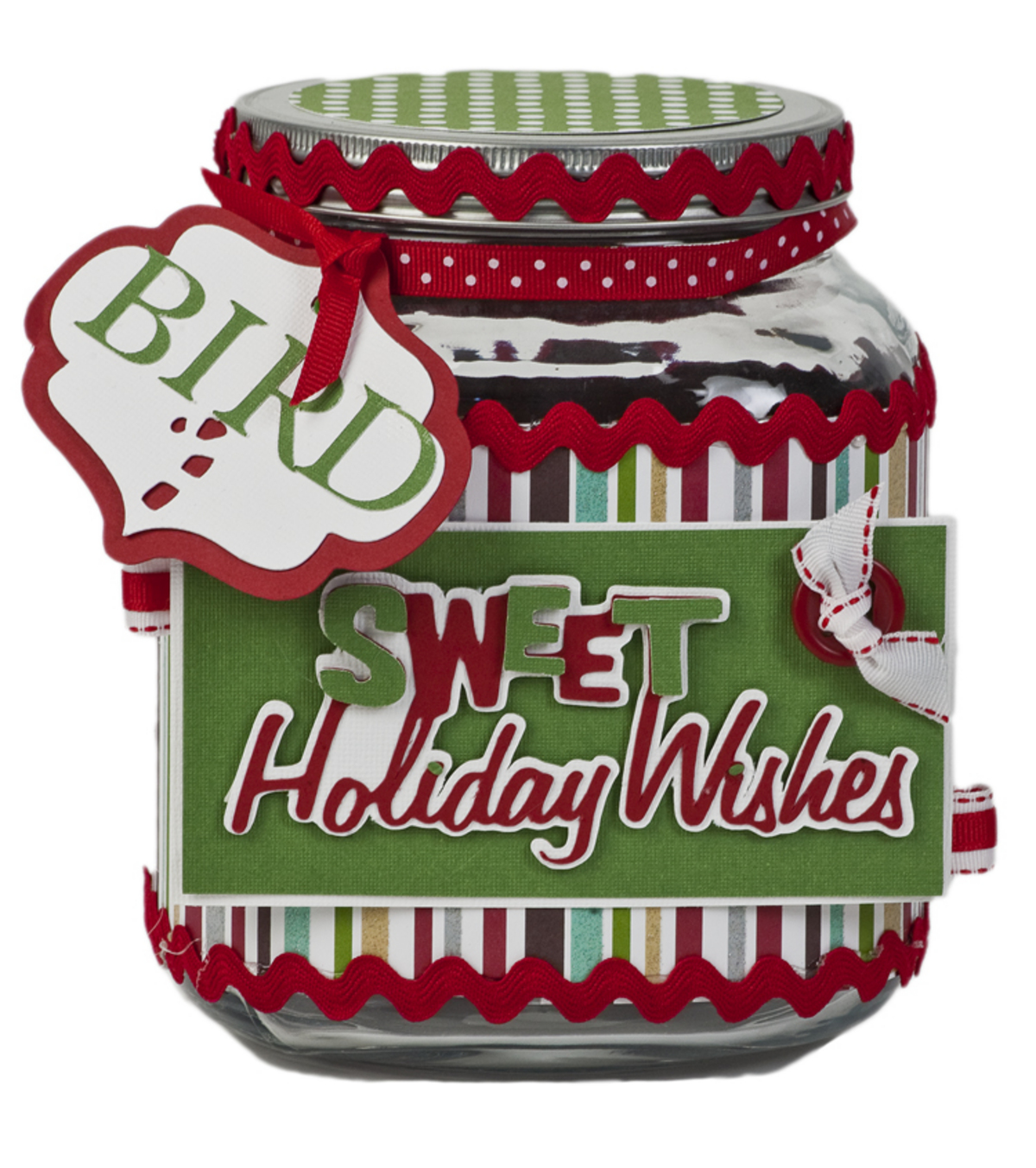 Sweet Holiday Wishes Jar