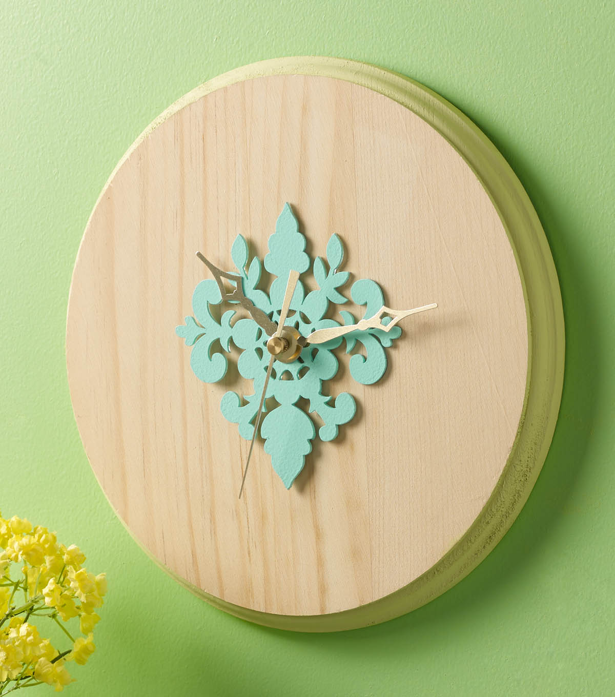 Buttercream™ Olivia Collection Clock