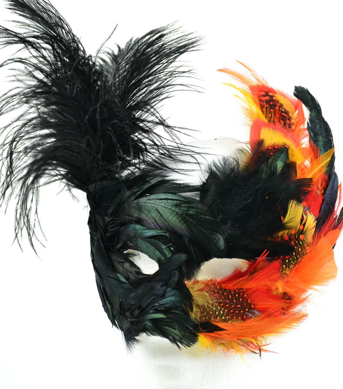 Halloween Feather/Paper Mask
