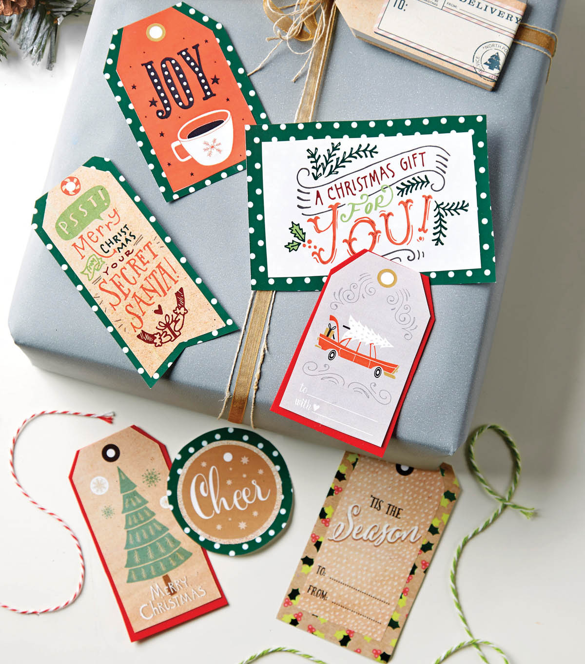 Holiday Gift Tag Printables