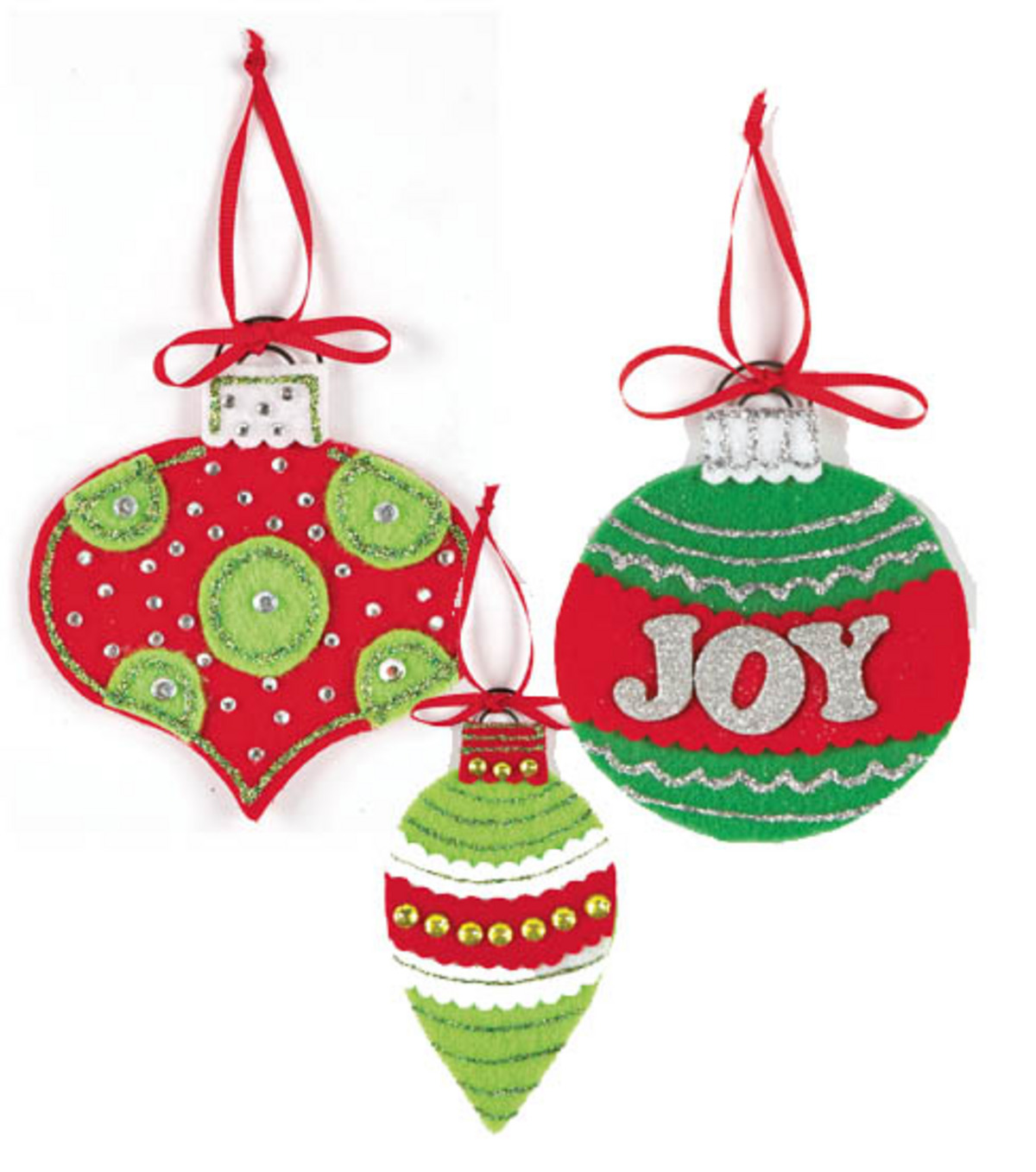High Quality Felt Ornaments Great Pictures