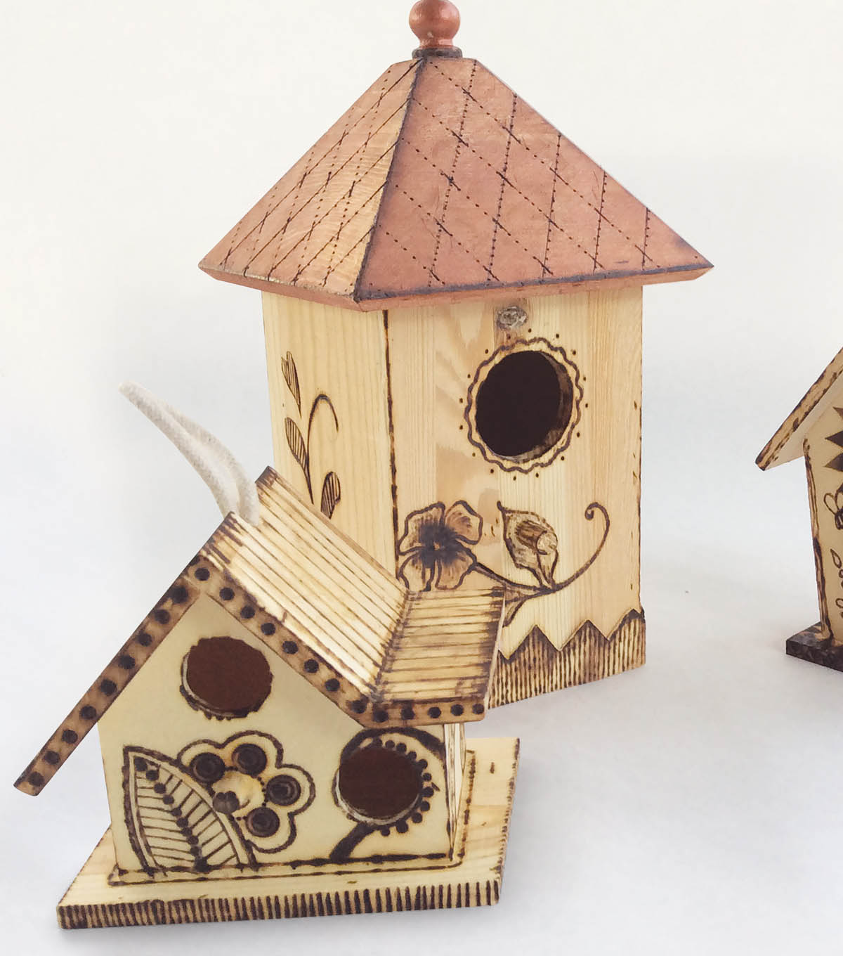 How To Create A Wood Burning Birdhouse