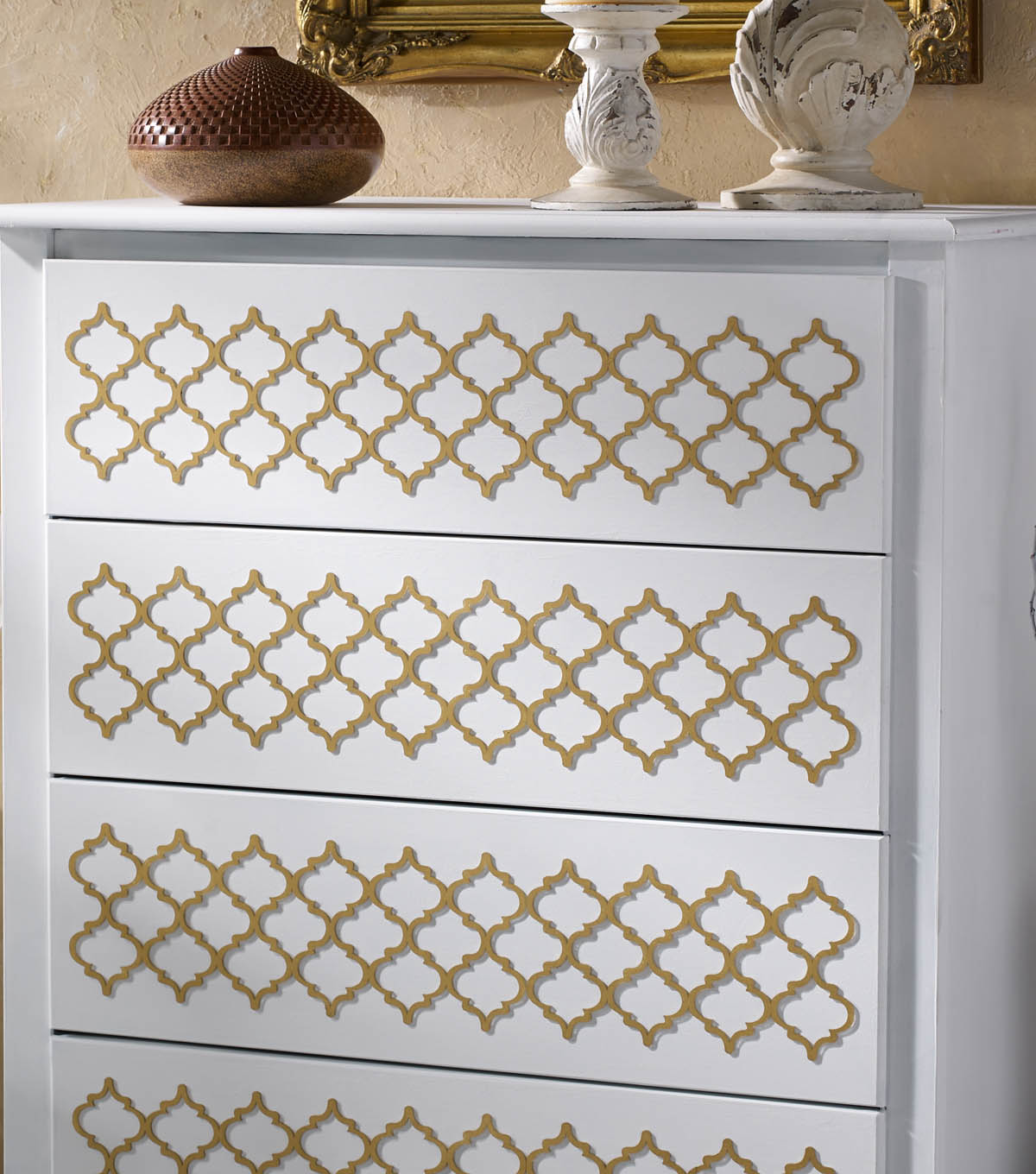 Buttercream™ Audrey Collection Upcycled Dresser