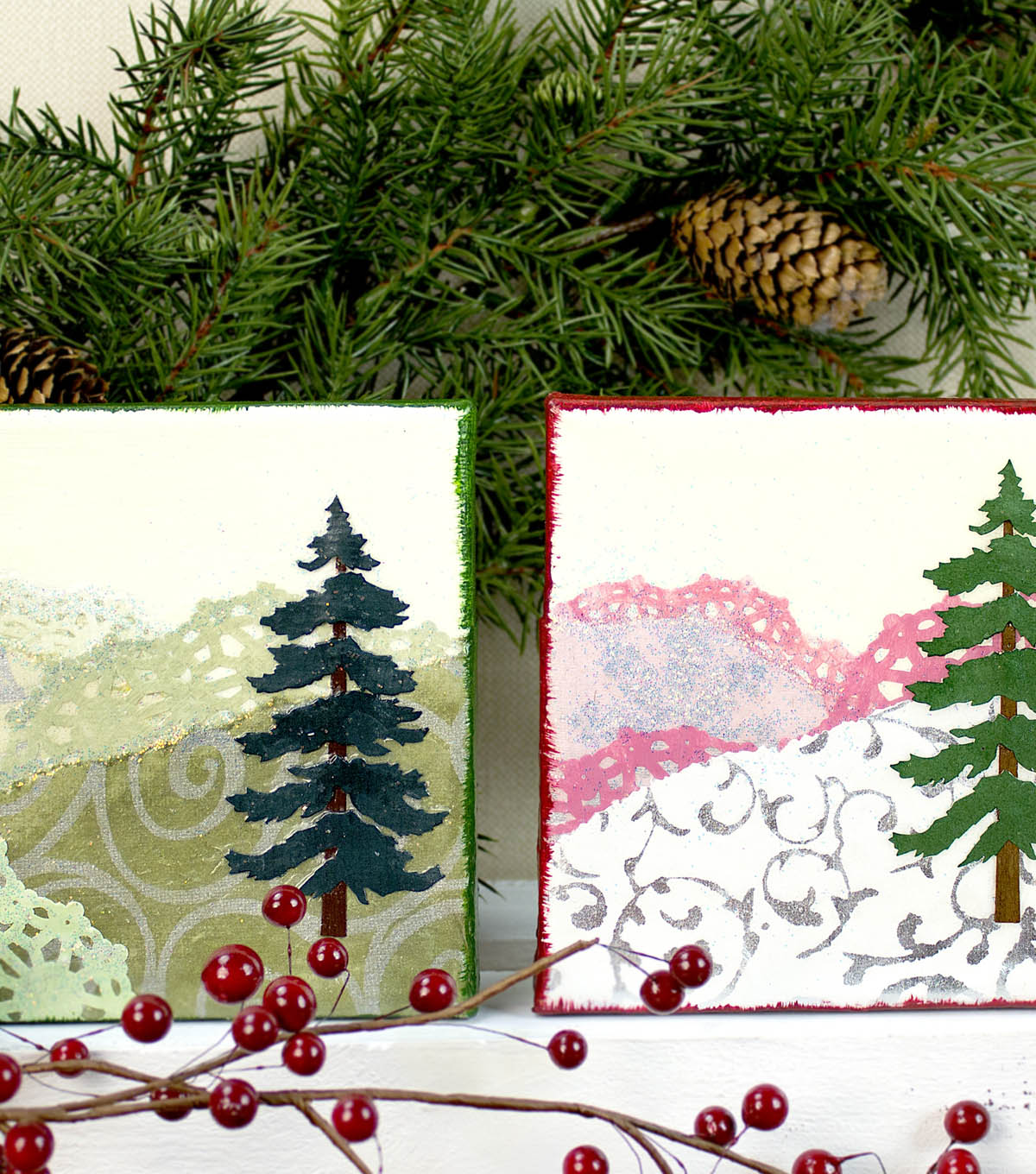 Two Tree Canvases