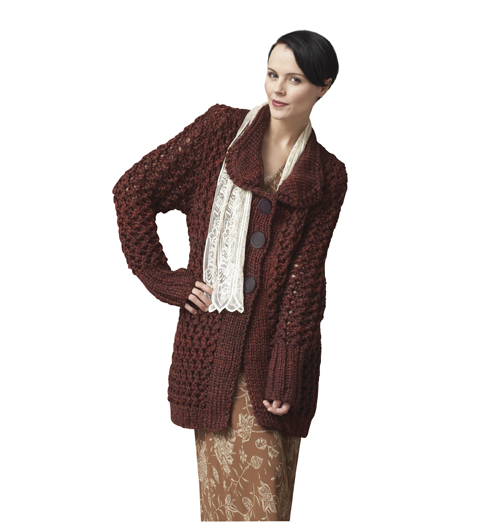 Charming Knitted Cardigan