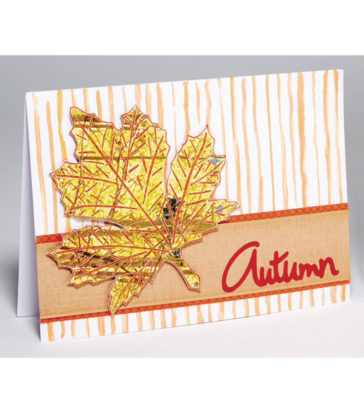 Autumn Leaf Card
