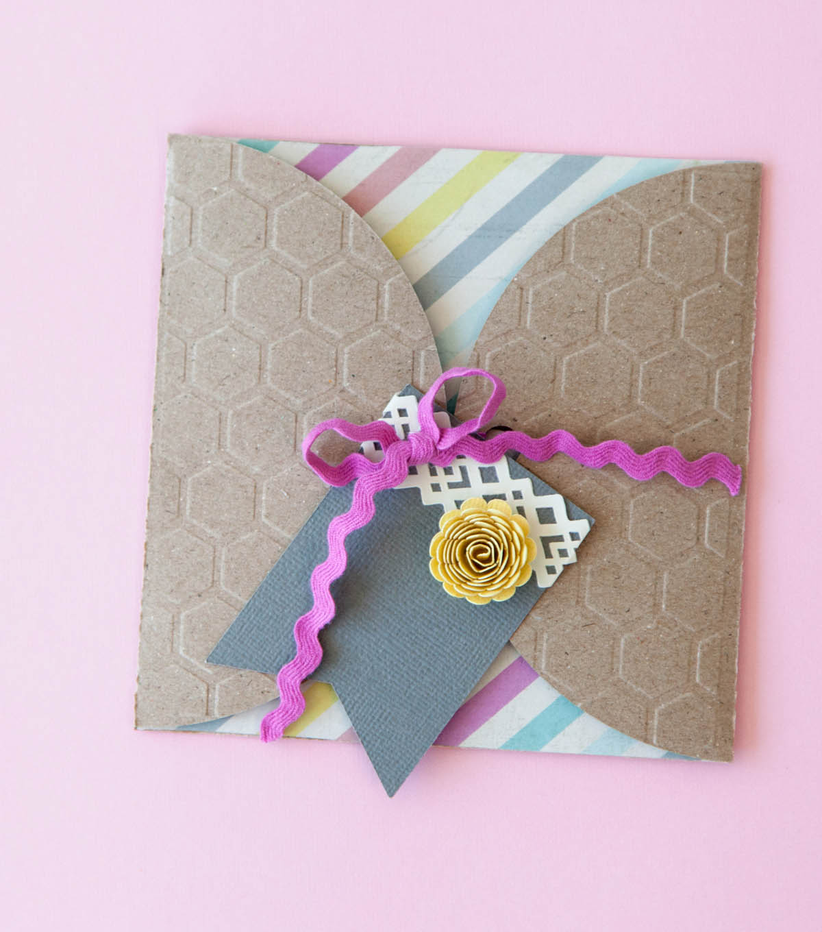 Honeycomb Envelope Gift