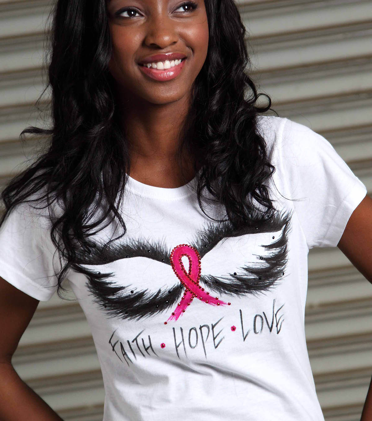 Wings of Faith, love and hope T-shirt