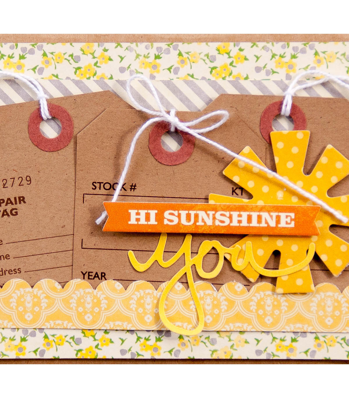Jillibean Soup Hi Sunshine Card