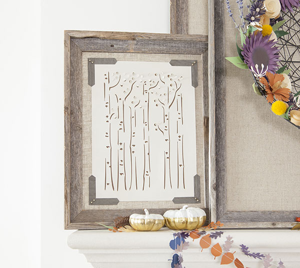 How To Make A Birch Tree Wall Art