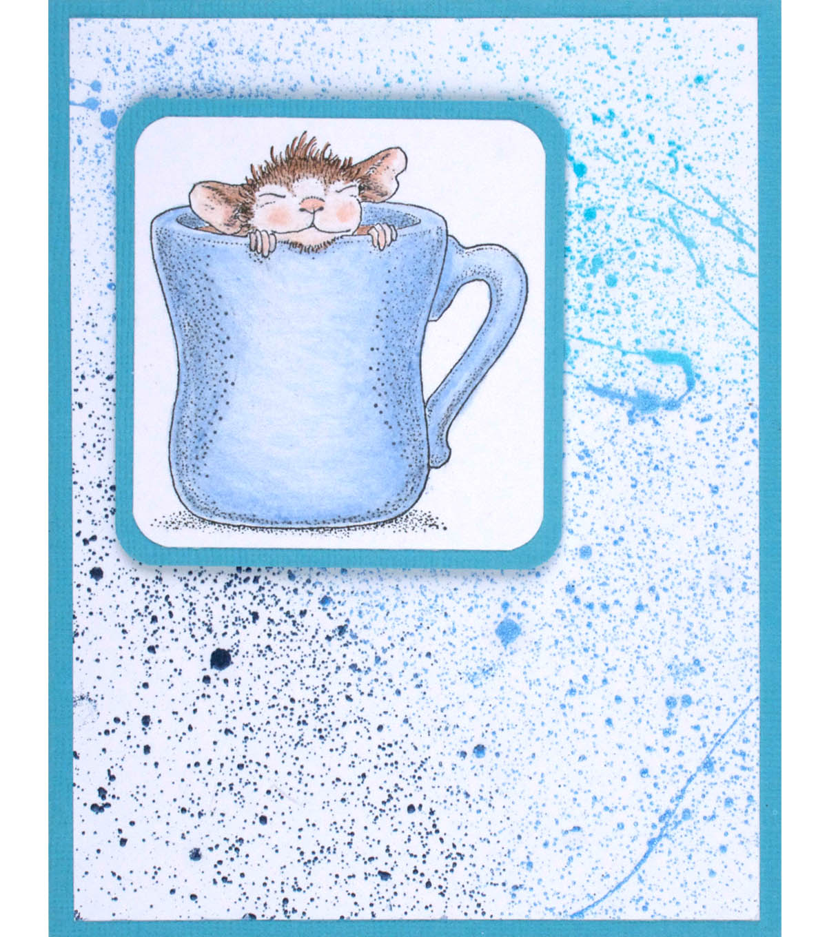 House Mouse Keep Warm Card
