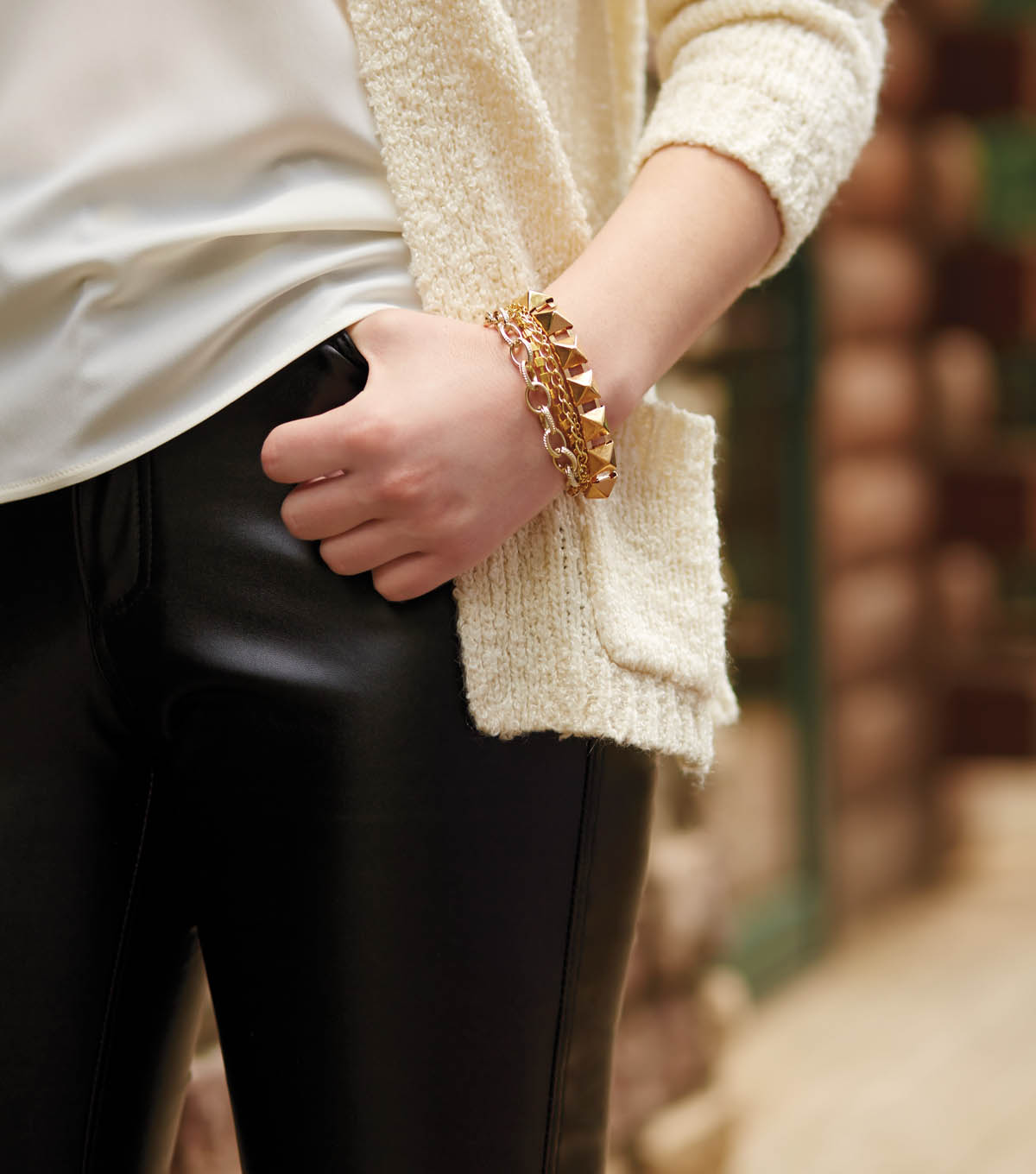 Get the Look: Tips for Sewing and Accessorizing with Faux Leather