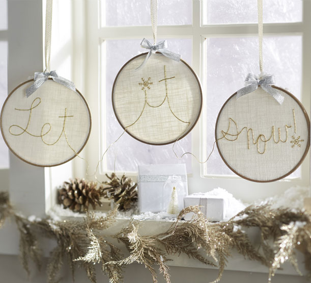 Makers Guide: Let It Snow Holiday Hoops