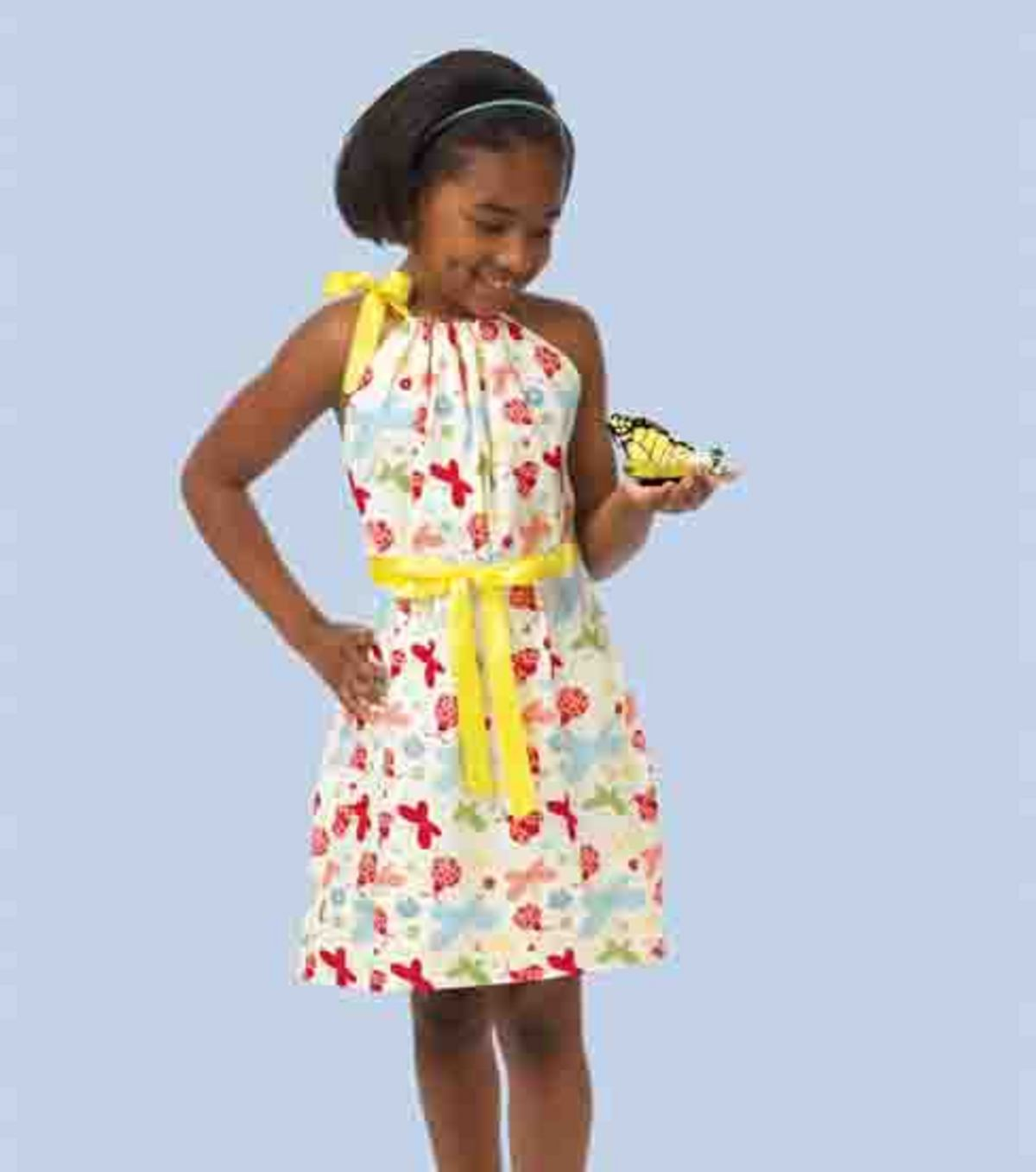 Little Girls Butterfly Dress