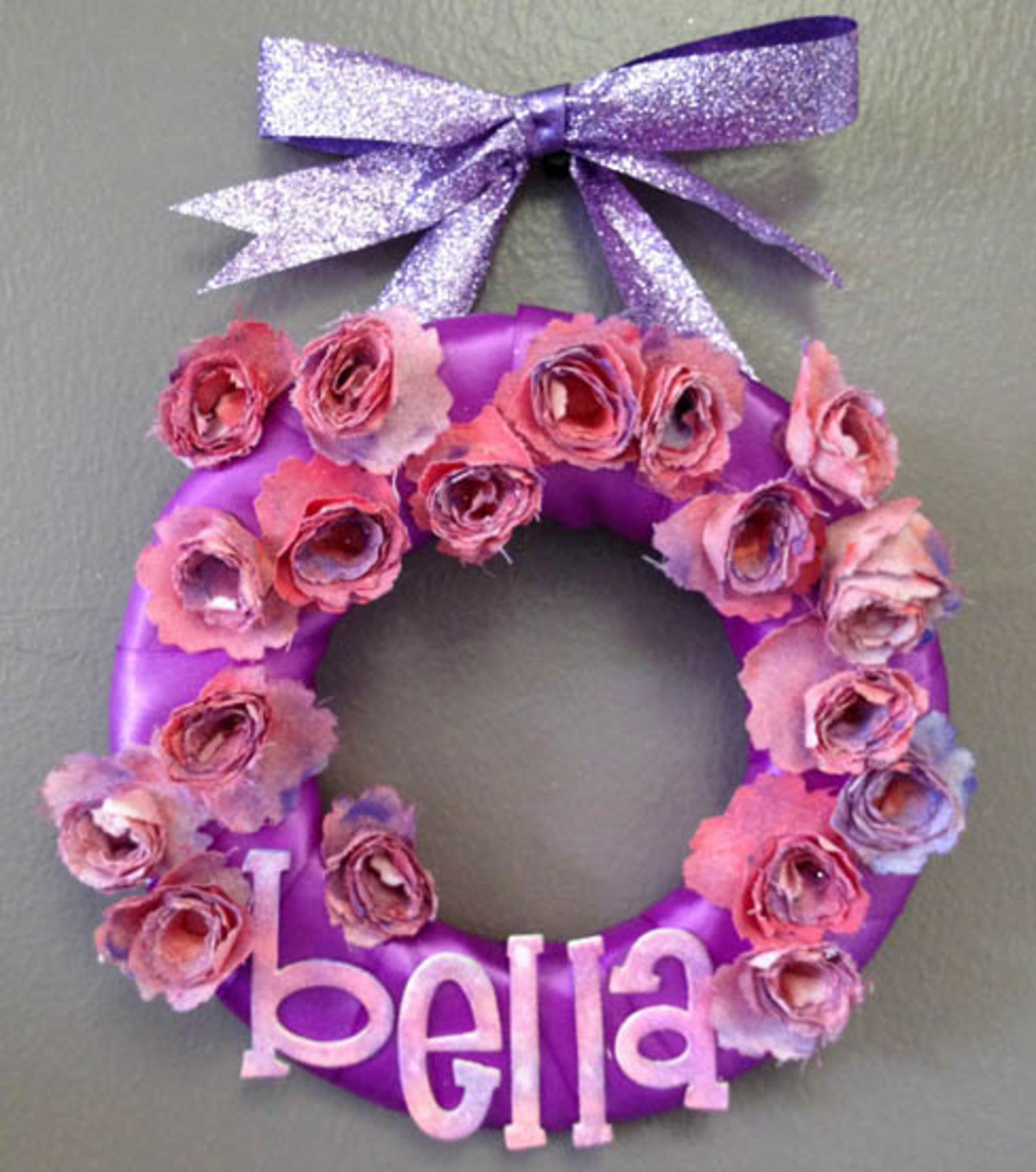 Bella Ribbon Wreath