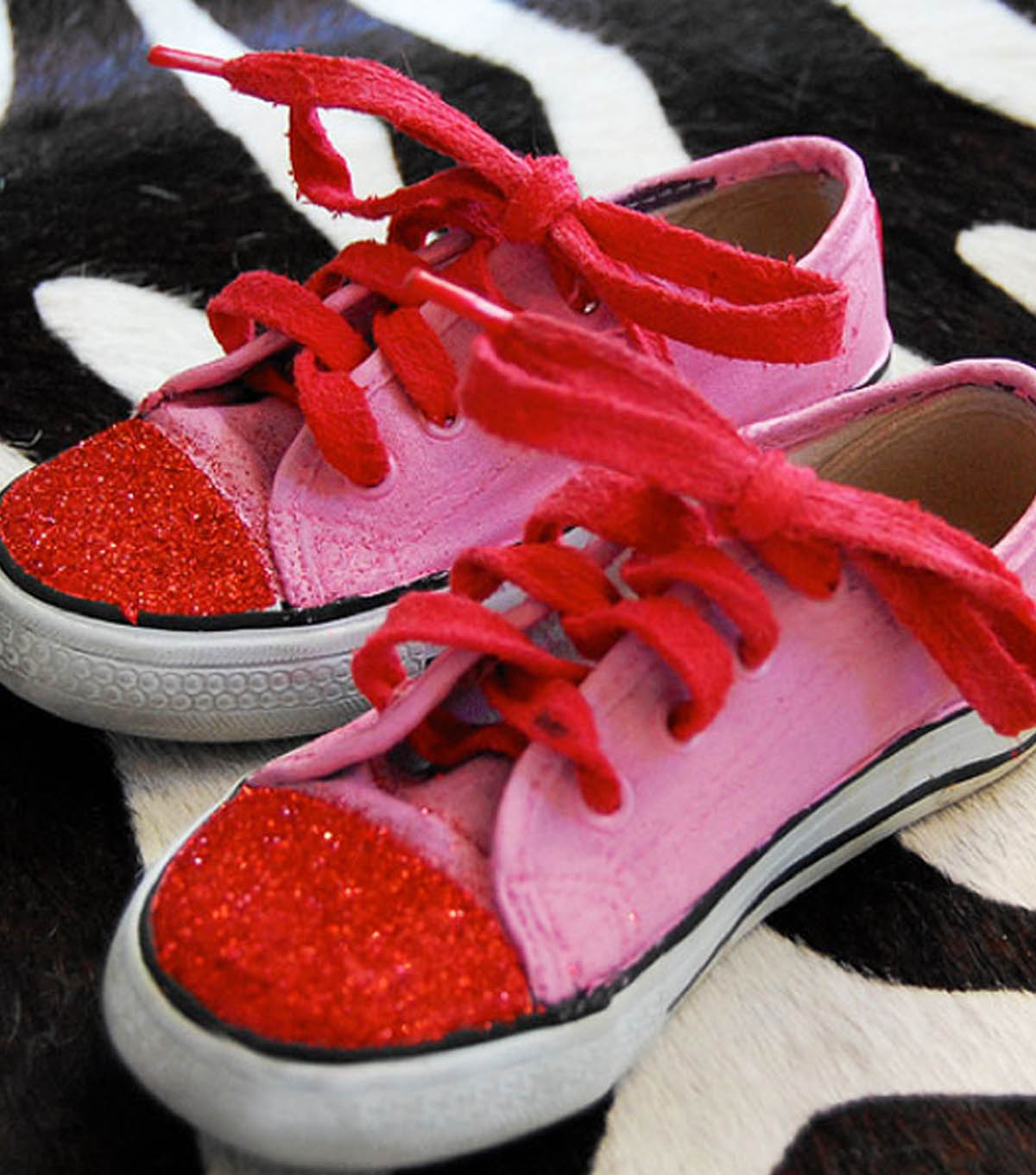 Glitter Toe Shoes