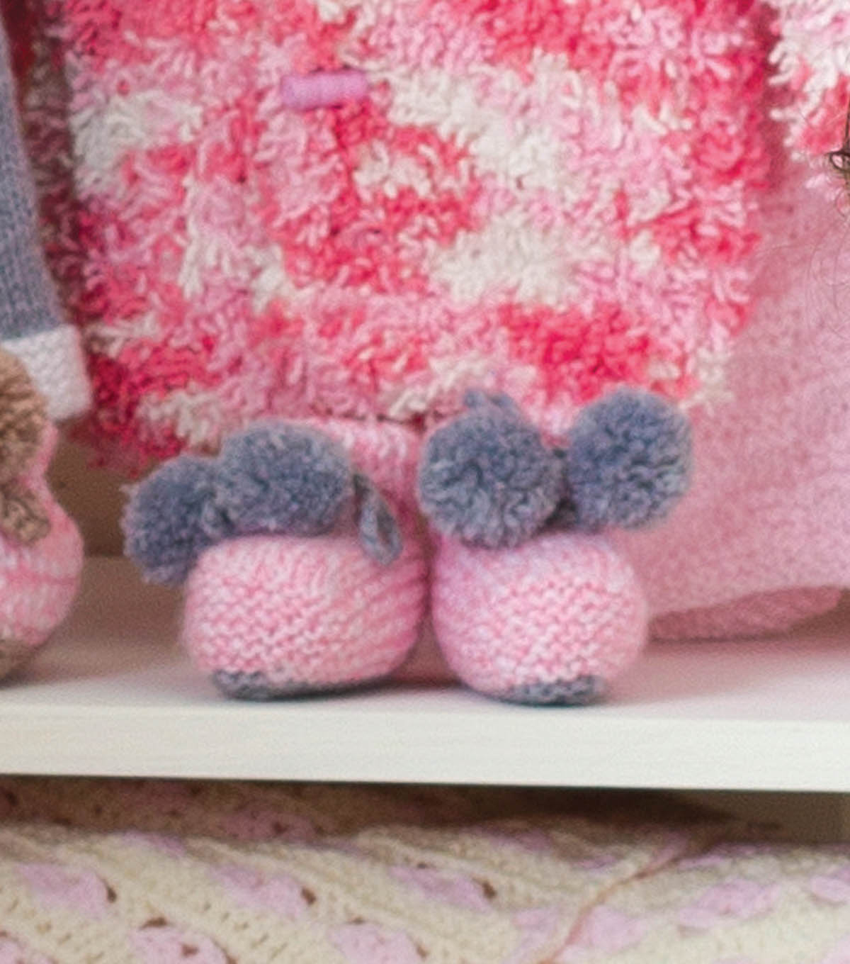 Baby Knit Booties