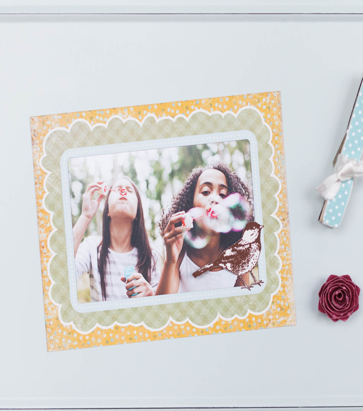 Printable Magnet Picture Frame