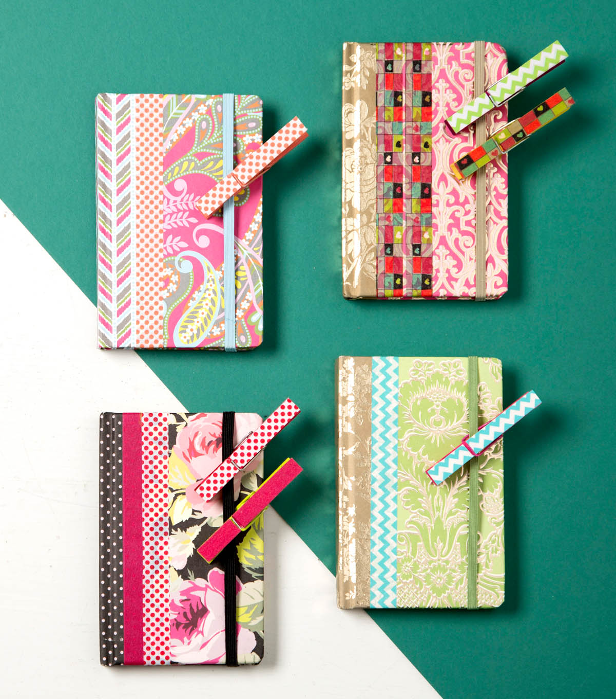 How To Make Clothespin Bookmarks And Journals