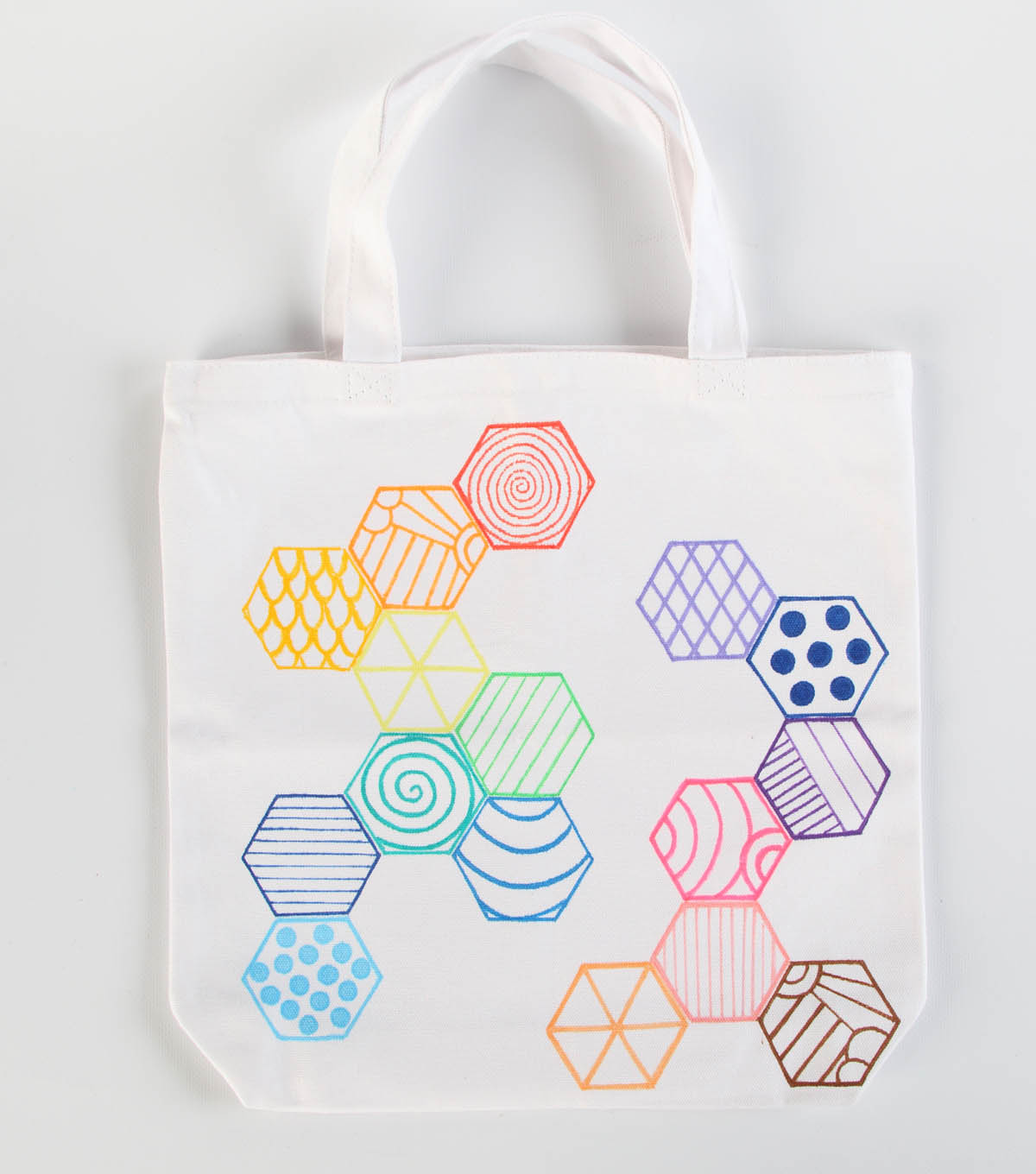 Trendy Shapes Tote Bag