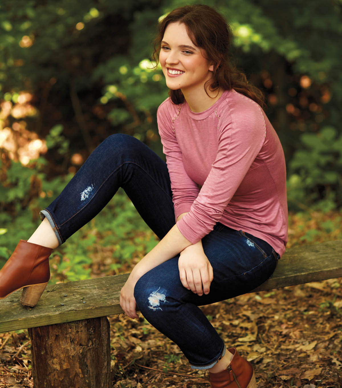 Get the Look: Tips for Sewing with Knits and Distressing Jeans