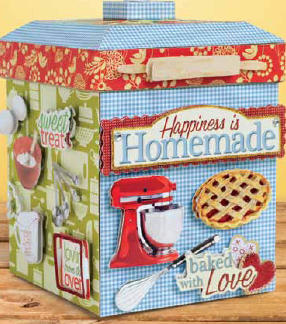 Happiness is Homemade Recipe Box